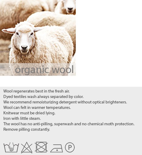 care instructions organic wool