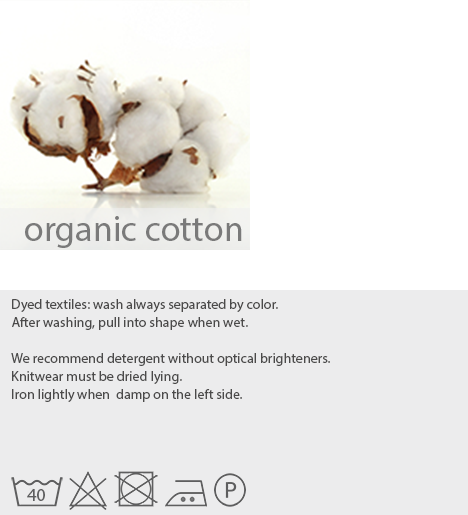 care instructions organic cotton