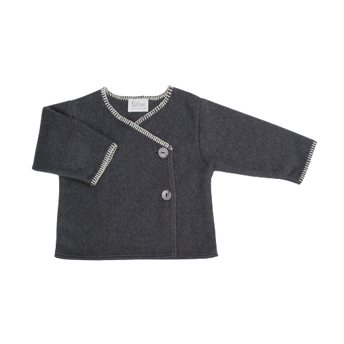 cardigan - 100% organic cotton