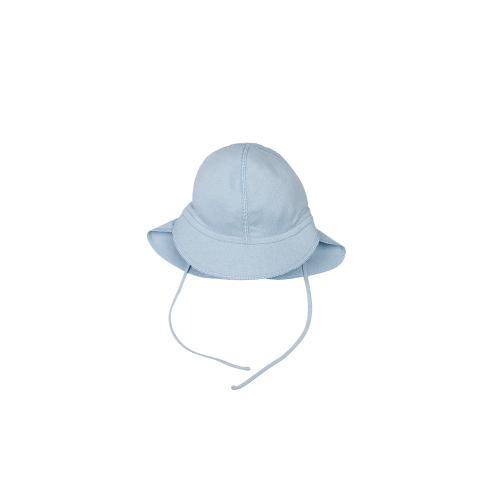 cap with neck protection - organic cotton/silk