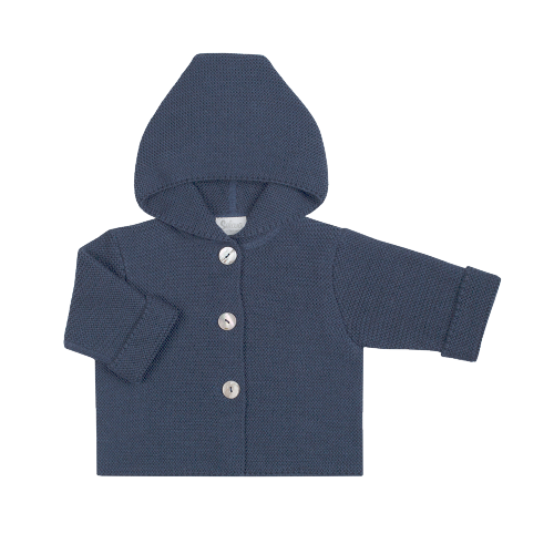 coat - 100% organic merino wool