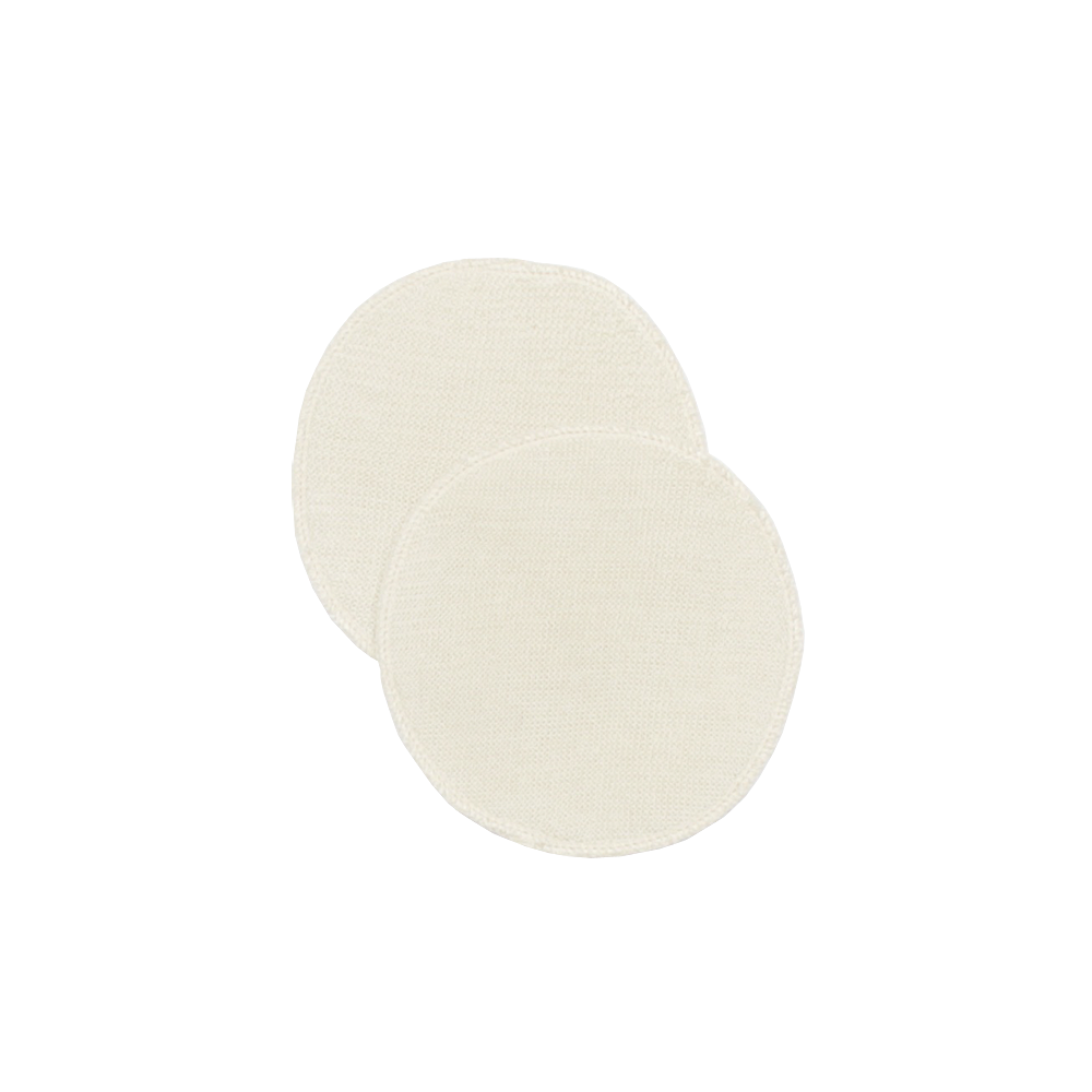 breast pads - organic wool/silk