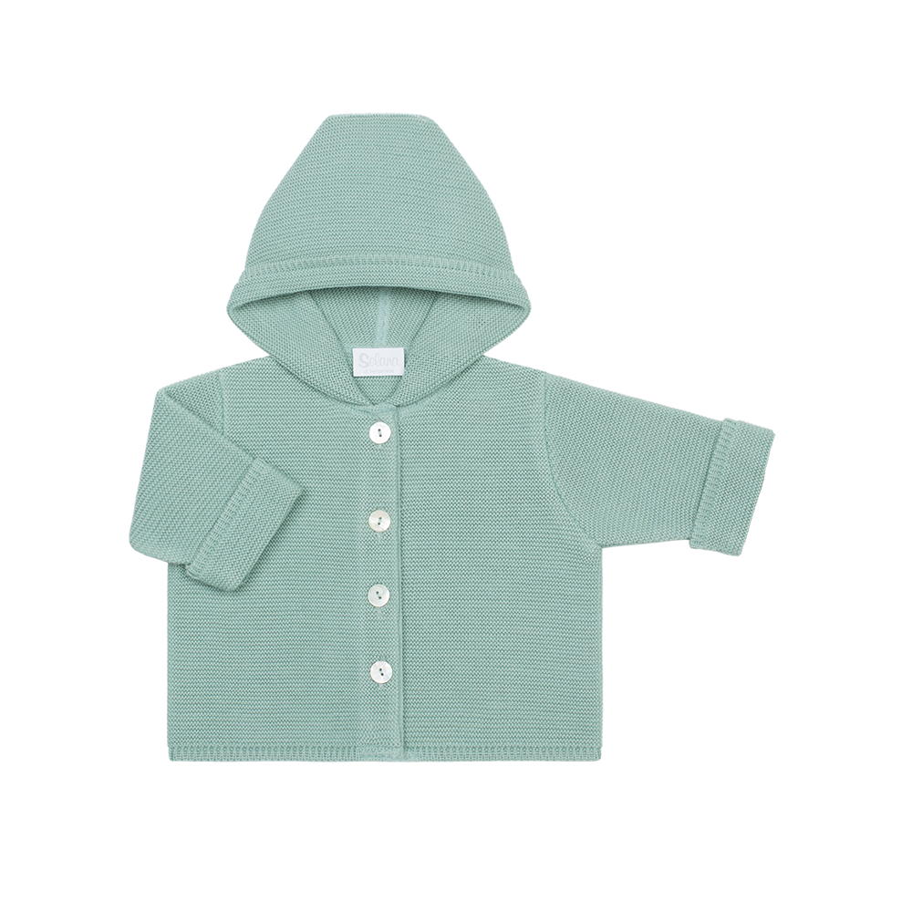 jacket with hood - 100% organic cotton
